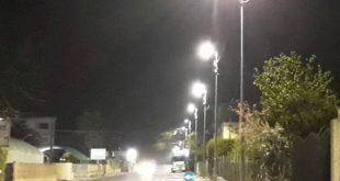Al via a Rosarno lavori per illuminazione pubblica