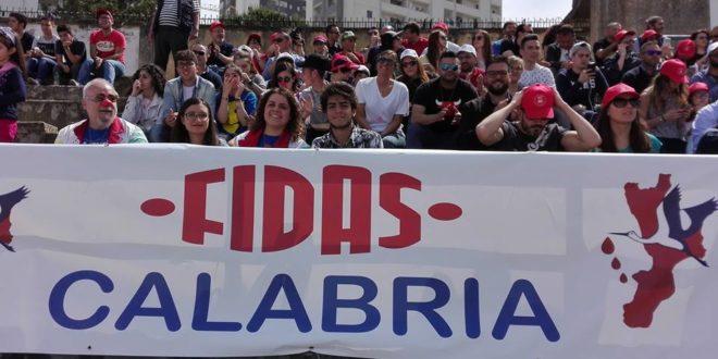 Fidas Calabria negli spalti del San Vito - Marulla