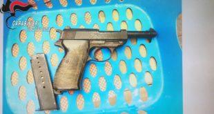 Deteneva pistola tedesca, arrestato 45enne a Vibo