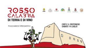 Festival itinerante di Rosso Calabria