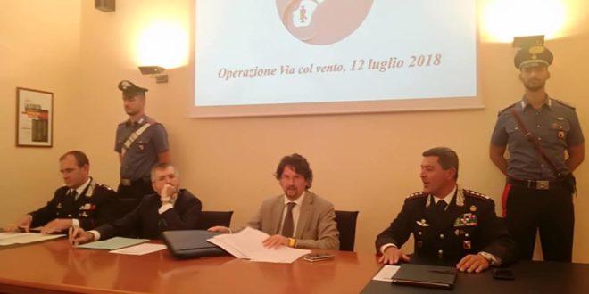 Carabinieri - operazione Via col Vento