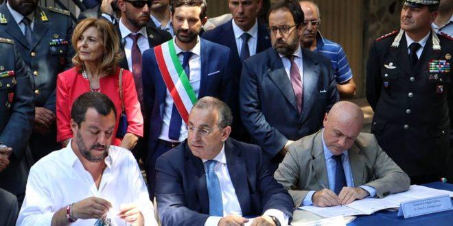 Salvini a Palmi