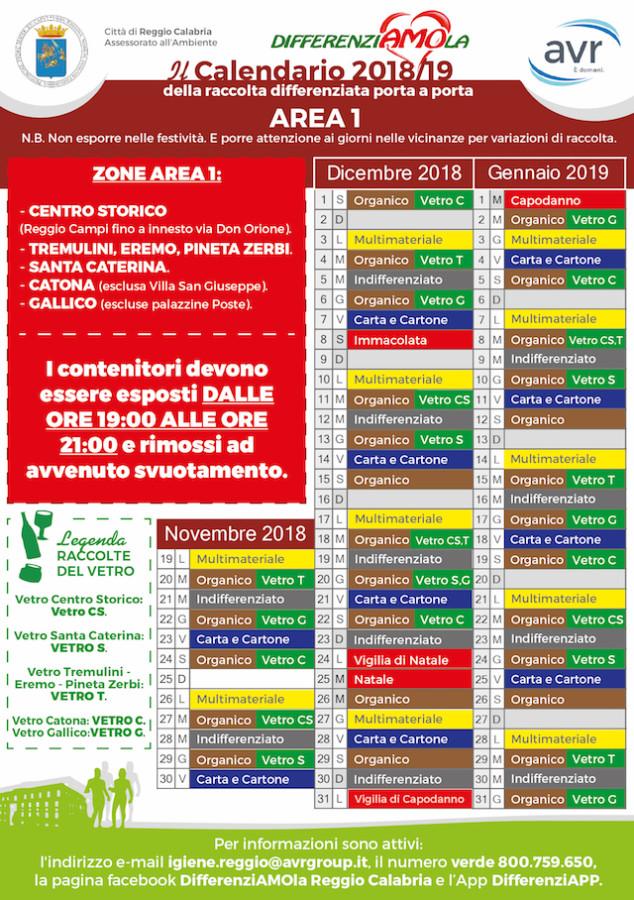 Calendario Concerti Calabria.Reggio Calabria Differenziata Cambia Tutto Il Programma