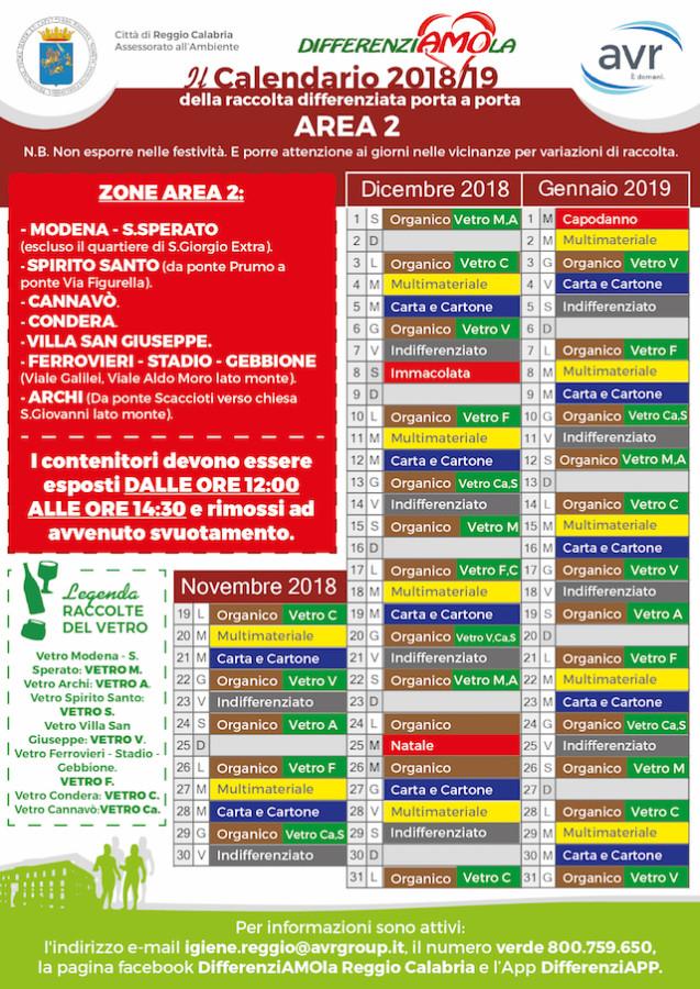 Raccolta Differenziata Cosenza Calendario 2019.Reggio Calabria Differenziata Cambia Tutto Il Programma