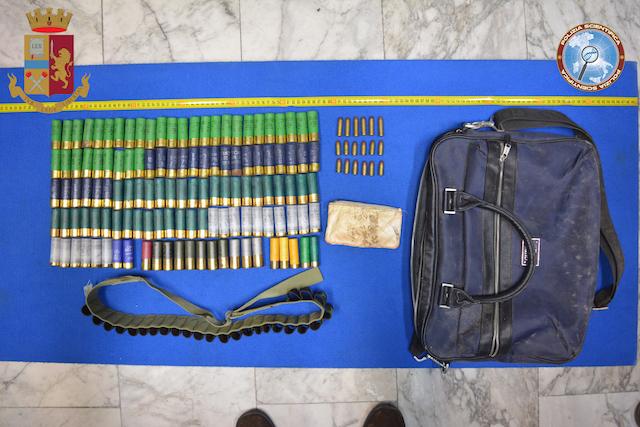Foto controlli a ciccarello rinvenute munizioni all for All interno di una cabina