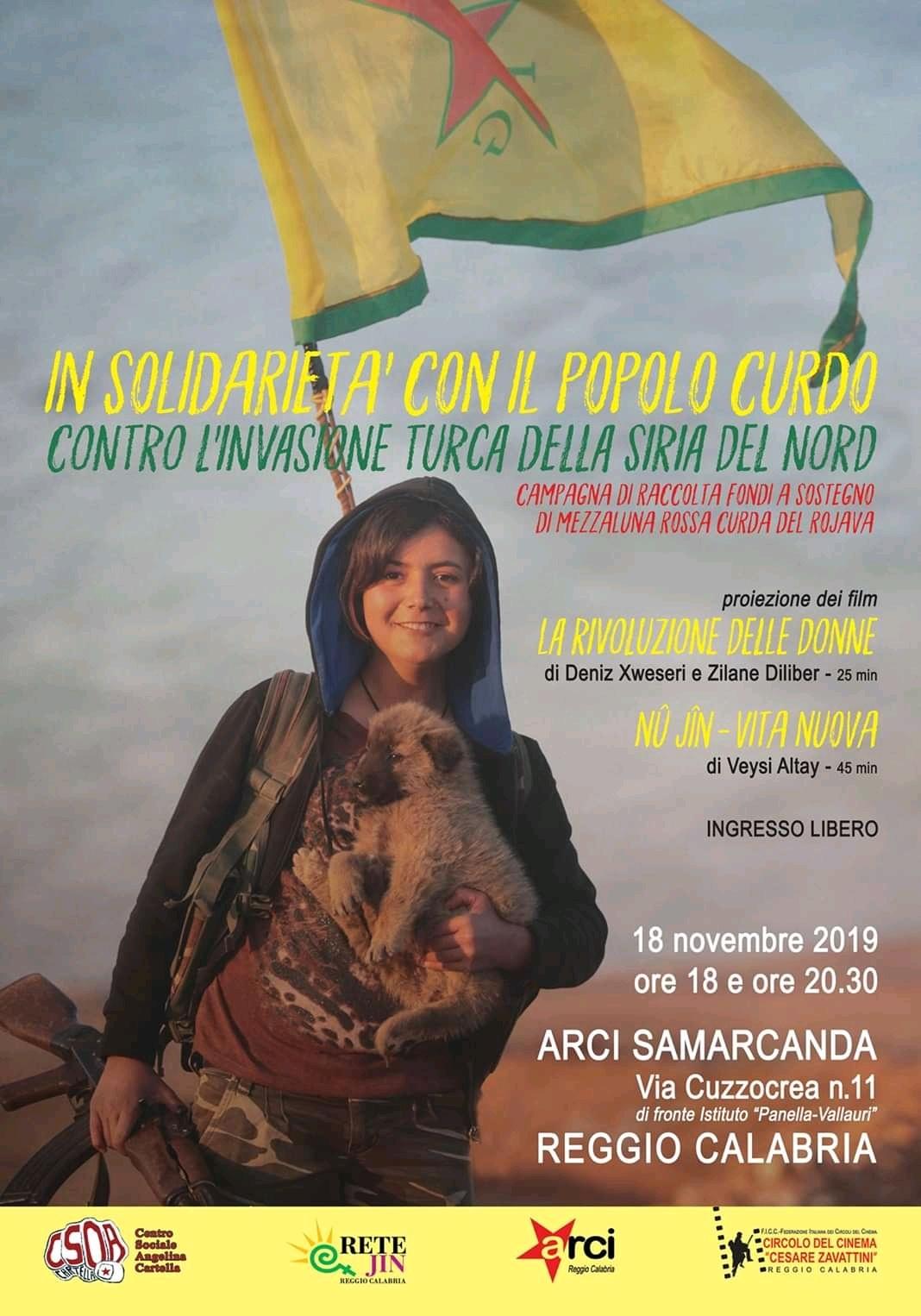 Reggio Calabria - Appuntamento solidale con il cinema curdo - Strill.it