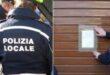 Polizia locale vigili chiusura esercizio commerciale